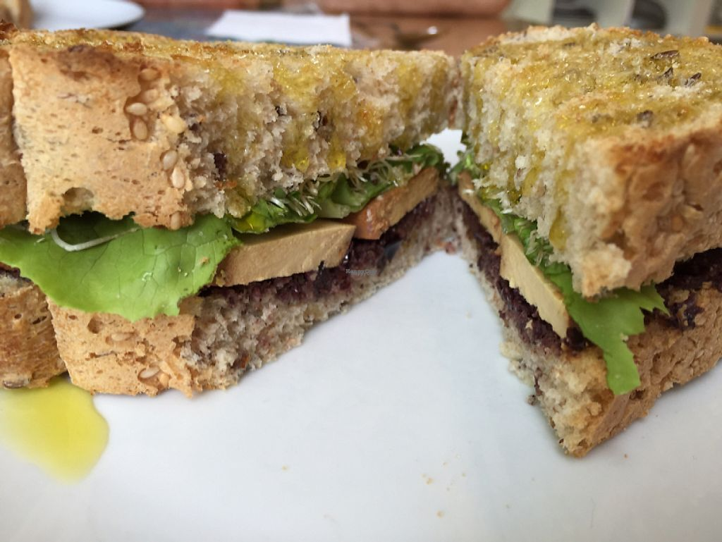 "Photo of Quintal Bioshop  by <a href=""/members/profile/DonnaC"">DonnaC</a> <br/>tofu and olive pate sandwich  <br/> April 10, 2017  - <a href='/contact/abuse/image/33822/246673'>Report</a>"