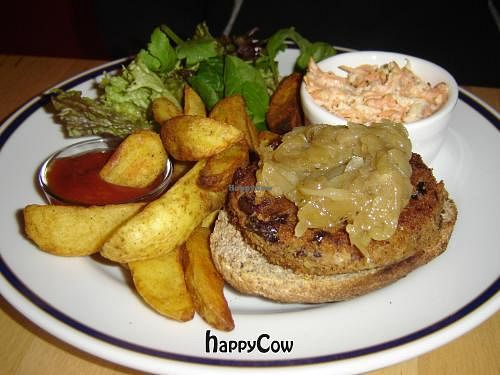 "Photo of CLOSED: Greenz  by <a href=""/members/profile/Joyatri"">Joyatri</a> <br/>Mixed bean burger <br/> December 29, 2012  - <a href='/contact/abuse/image/33823/42027'>Report</a>"