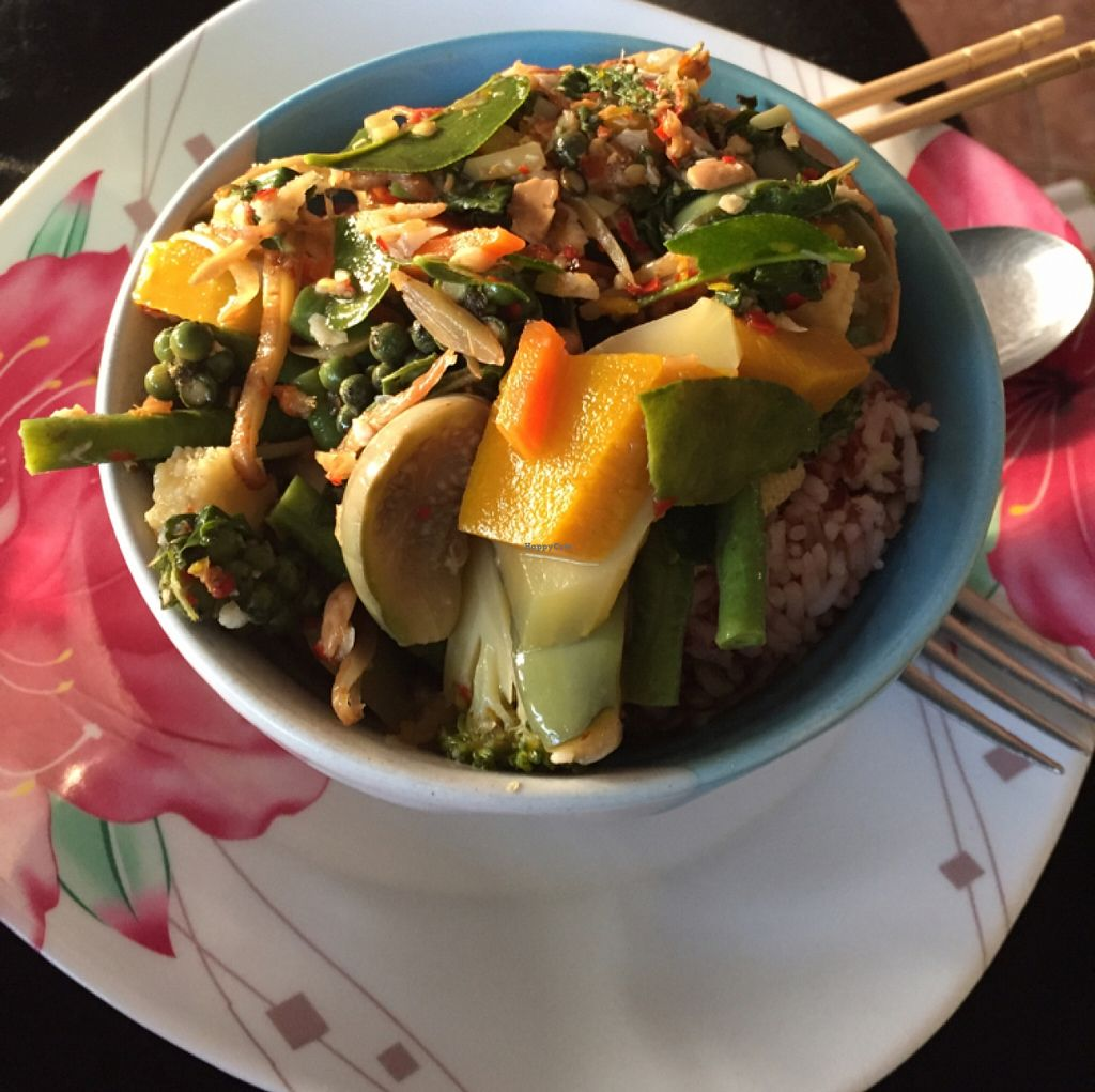 """Photo of On's Thai Isaan  by <a href=""""/members/profile/annamannamomanna"""">annamannamomanna</a> <br/>jungle curry & brown rice <br/> December 22, 2015  - <a href='/contact/abuse/image/33830/129439'>Report</a>"""