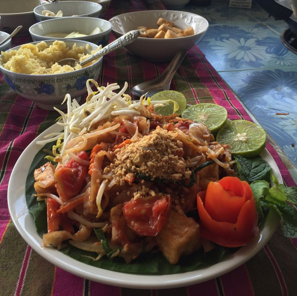 """Photo of On's Thai Isaan  by <a href=""""/members/profile/annamannamomanna"""">annamannamomanna</a> <br/>vegan pad Thai!  <br/> December 22, 2015  - <a href='/contact/abuse/image/33830/129442'>Report</a>"""