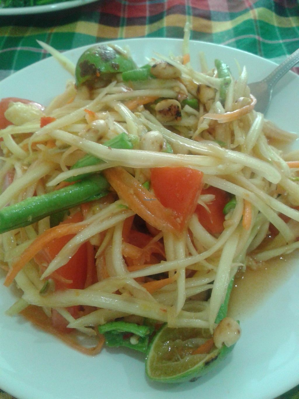 """Photo of On's Thai Isaan  by <a href=""""/members/profile/MiriamAgat"""">MiriamAgat</a> <br/>Papaya salad <br/> February 4, 2016  - <a href='/contact/abuse/image/33830/135040'>Report</a>"""