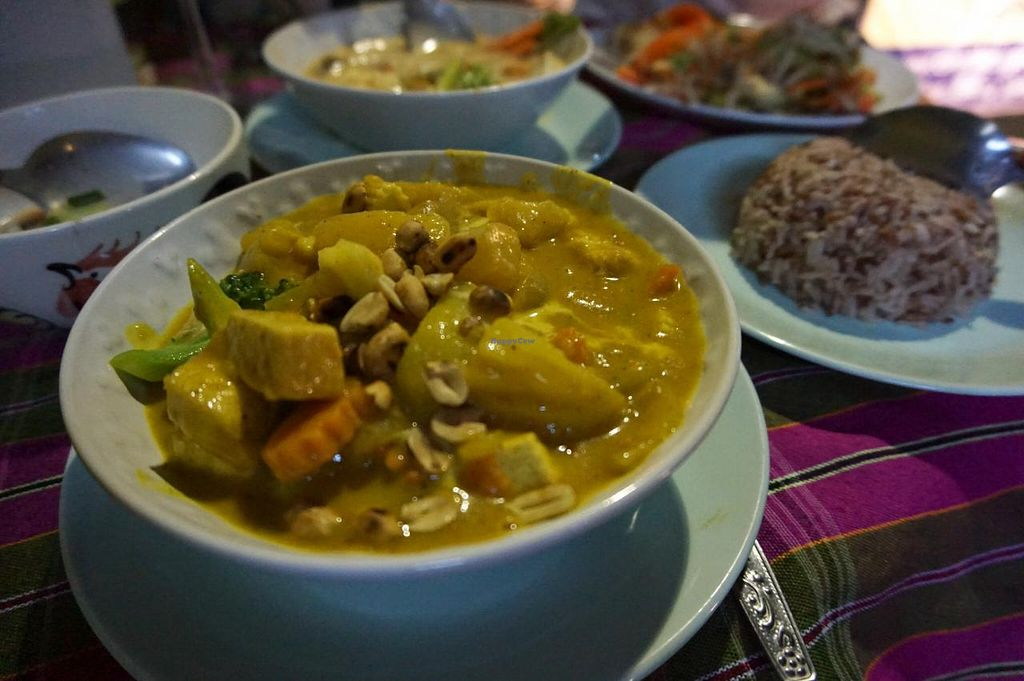 """Photo of On's Thai Isaan  by <a href=""""/members/profile/MMaree"""">MMaree</a> <br/>Very nice vegan massaman curry <br/> April 4, 2015  - <a href='/contact/abuse/image/33830/97846'>Report</a>"""