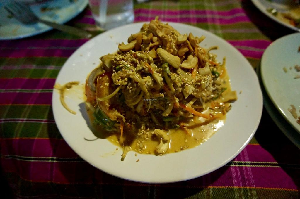 """Photo of On's Thai Isaan  by <a href=""""/members/profile/MMaree"""">MMaree</a> <br/>Banana flower salad FTW!  <br/> April 4, 2015  - <a href='/contact/abuse/image/33830/97847'>Report</a>"""