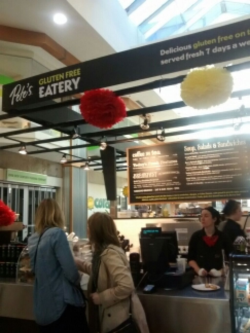 """Photo of Pete's Gluten Free Eatery and Espresso Bar  by <a href=""""/members/profile/QuothTheRaven"""">QuothTheRaven</a> <br/>cafe <br/> April 22, 2016  - <a href='/contact/abuse/image/33857/145770'>Report</a>"""