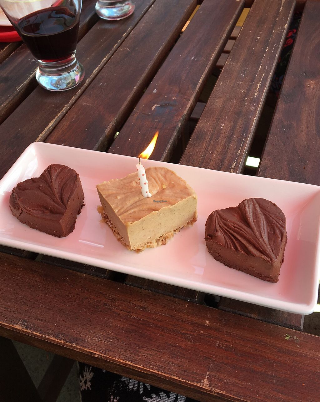 """Photo of Cafe by Tao  by <a href=""""/members/profile/reneeveg"""">reneeveg</a> <br/>My birthday fudge and there mesquite bar which tasted like caramel and coconut..so good!! <br/> April 6, 2018  - <a href='/contact/abuse/image/33858/381379'>Report</a>"""