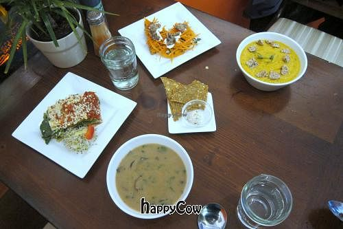 """Photo of Cafe by Tao  by <a href=""""/members/profile/subarcticdude"""">subarcticdude</a> <br/>Soups with Entrees <br/> March 7, 2013  - <a href='/contact/abuse/image/33858/45148'>Report</a>"""