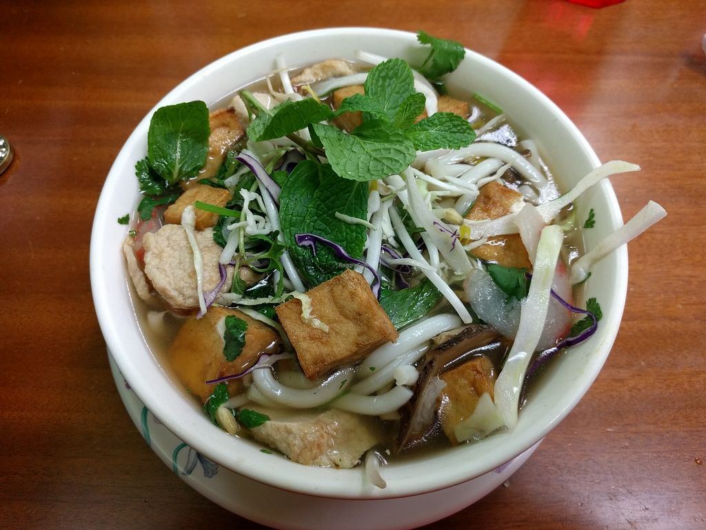 """Photo of Vinh Loi Tofu  by <a href=""""/members/profile/Sonja%20and%20Dirk"""">Sonja and Dirk</a> <br/>udon soup <br/> February 15, 2016  - <a href='/contact/abuse/image/3385/136463'>Report</a>"""