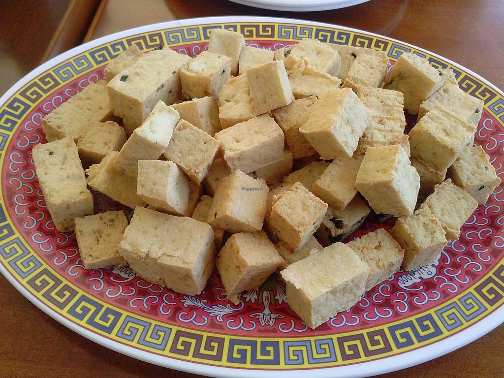 "Photo of Vinh Loi Tofu  by <a href=""/members/profile/Sonja%20and%20Dirk"">Sonja and Dirk</a> <br/>large tofu plate <br/> January 3, 2015  - <a href='/contact/abuse/image/3385/89424'>Report</a>"