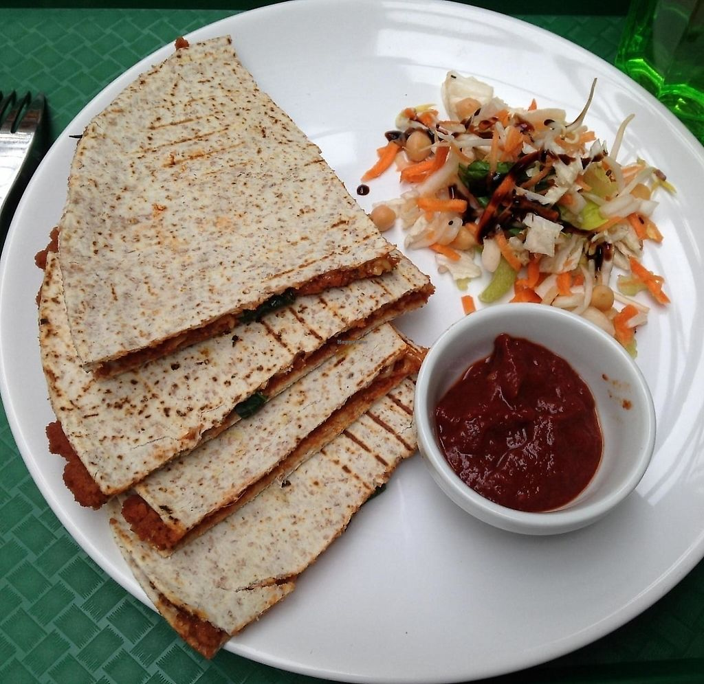 "Photo of Veggie  by <a href=""/members/profile/kristinarollo"">kristinarollo</a> <br/>Quesadilla