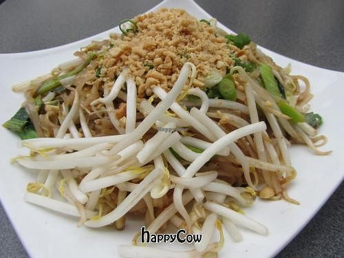 """Photo of Mei Thai  by <a href=""""/members/profile/VegiAnna"""">VegiAnna</a> <br/>Pad Thai vegetarian (without egg) <br/> August 18, 2012  - <a href='/contact/abuse/image/33890/36256'>Report</a>"""