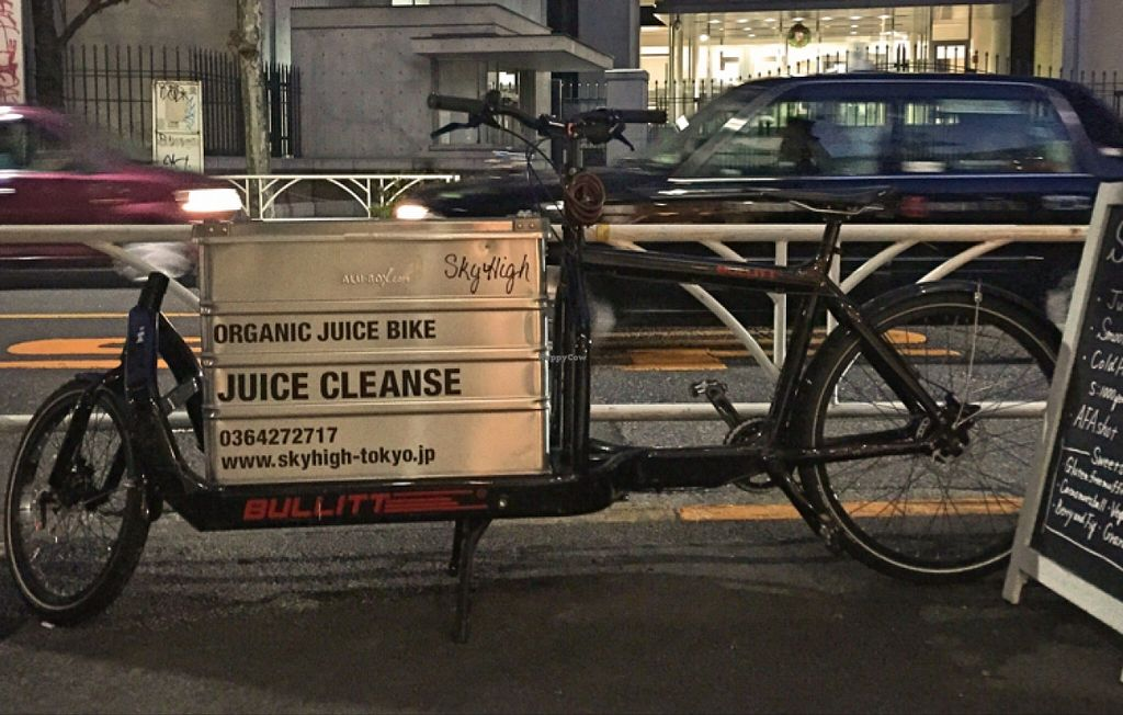 """Photo of Sky High  by <a href=""""/members/profile/spixveg"""">spixveg</a> <br/>the organic juice bike <br/> December 25, 2015  - <a href='/contact/abuse/image/33924/129775'>Report</a>"""