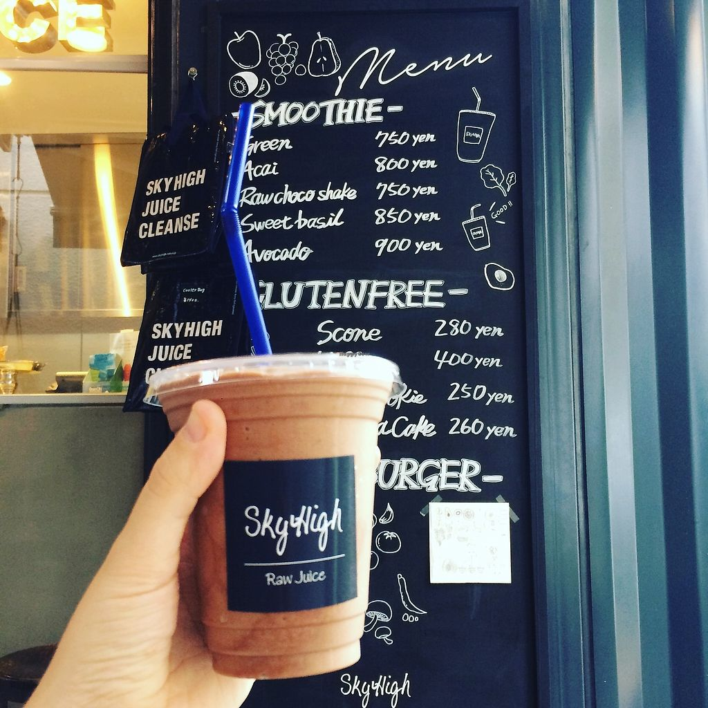 """Photo of Sky High  by <a href=""""/members/profile/ChiaraT"""">ChiaraT</a> <br/>Raw choco shake <br/> October 4, 2017  - <a href='/contact/abuse/image/33924/311887'>Report</a>"""