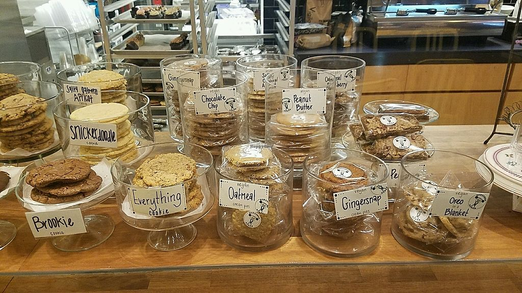 """Photo of Bakeshop  by <a href=""""/members/profile/kenvegan"""">kenvegan</a> <br/>vegan cookies <br/> July 4, 2017  - <a href='/contact/abuse/image/33925/276721'>Report</a>"""