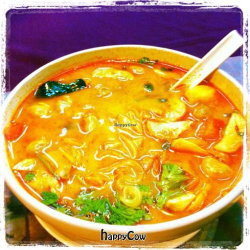"""Photo of You and Me  by <a href=""""/members/profile/chazyvr"""">chazyvr</a> <br/>Tom Yum Soup with mushrooms and noodles <br/> August 19, 2012  - <a href='/contact/abuse/image/33927/36457'>Report</a>"""