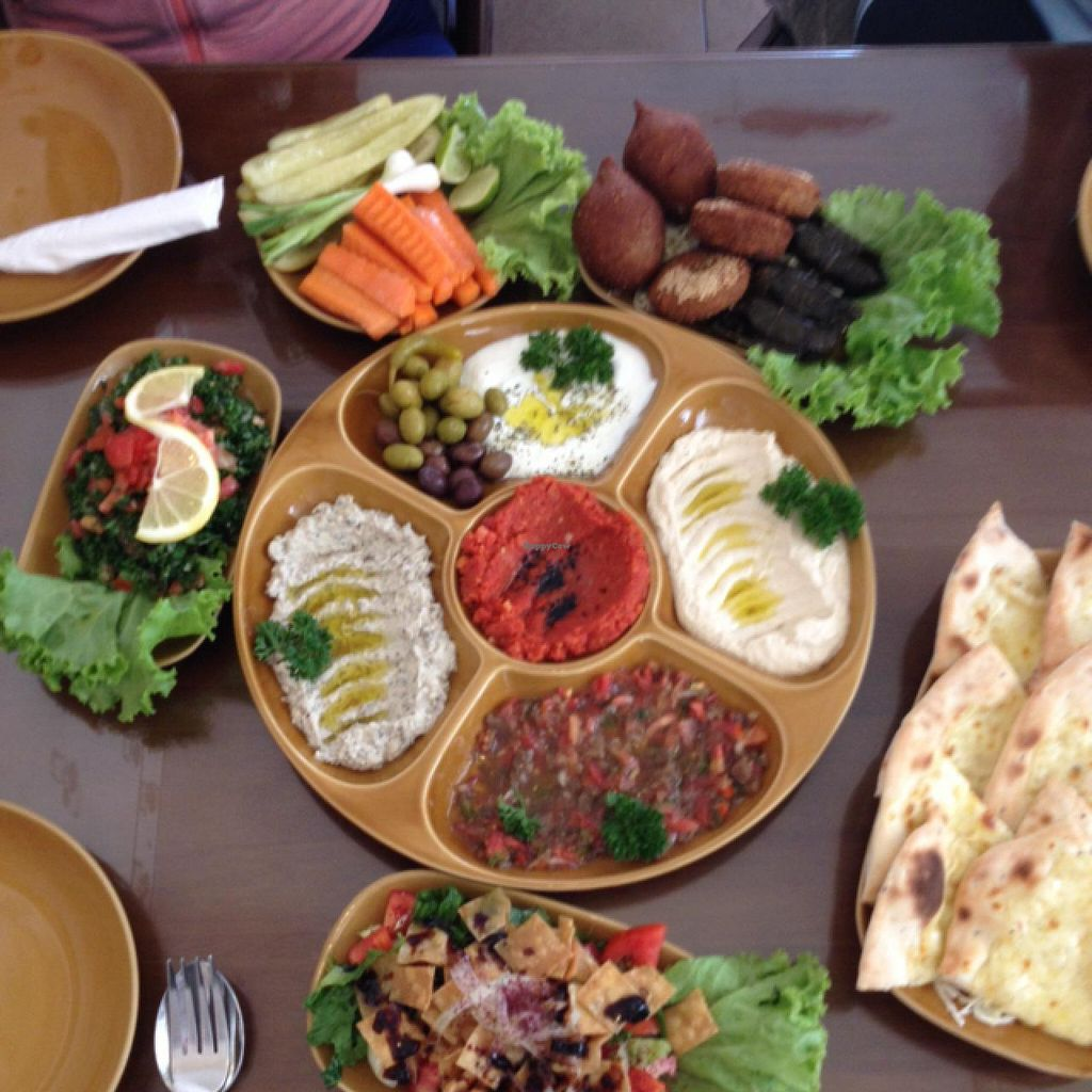 """Photo of Lebanese Restaurant  by <a href=""""/members/profile/CarlosGP"""">CarlosGP</a> <br/>appetizer platter  <br/> July 21, 2015  - <a href='/contact/abuse/image/33929/110394'>Report</a>"""