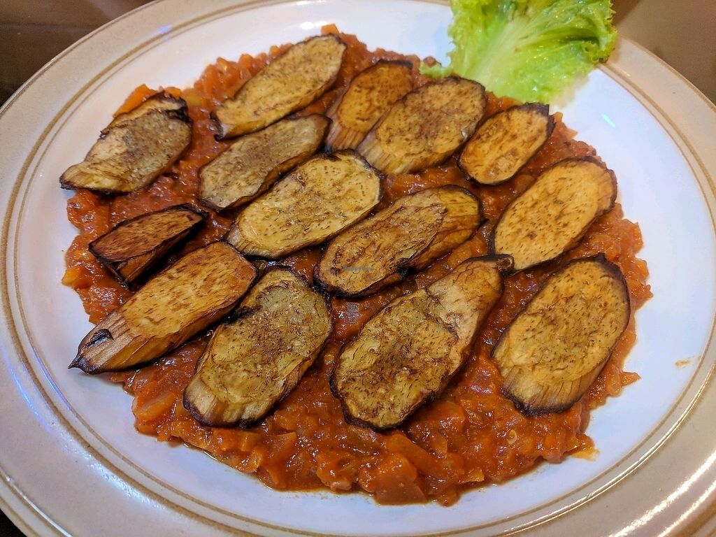 """Photo of Lebanese Restaurant  by <a href=""""/members/profile/Eugenederm"""">Eugenederm</a> <br/>Eggplant dish <br/> January 3, 2018  - <a href='/contact/abuse/image/33929/342555'>Report</a>"""