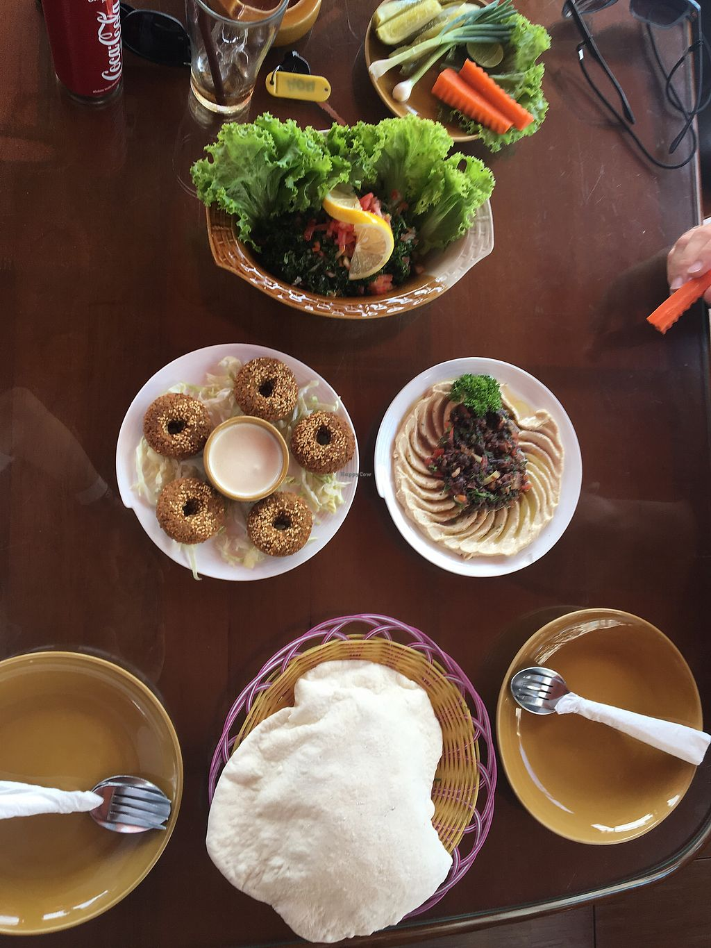 """Photo of Lebanese Restaurant  by <a href=""""/members/profile/Danikite212"""">Danikite212</a> <br/>Falafel and Lebanese salad <br/> February 20, 2018  - <a href='/contact/abuse/image/33929/361617'>Report</a>"""