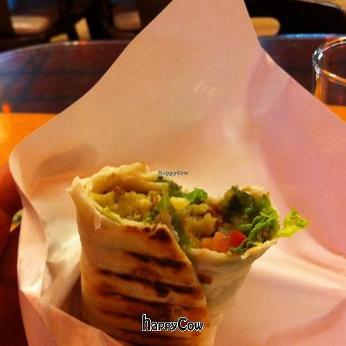 """Photo of Lebanese Restaurant  by <a href=""""/members/profile/chazyvr"""">chazyvr</a> <br/>Falafel sandwich <br/> August 19, 2012  - <a href='/contact/abuse/image/33929/36456'>Report</a>"""