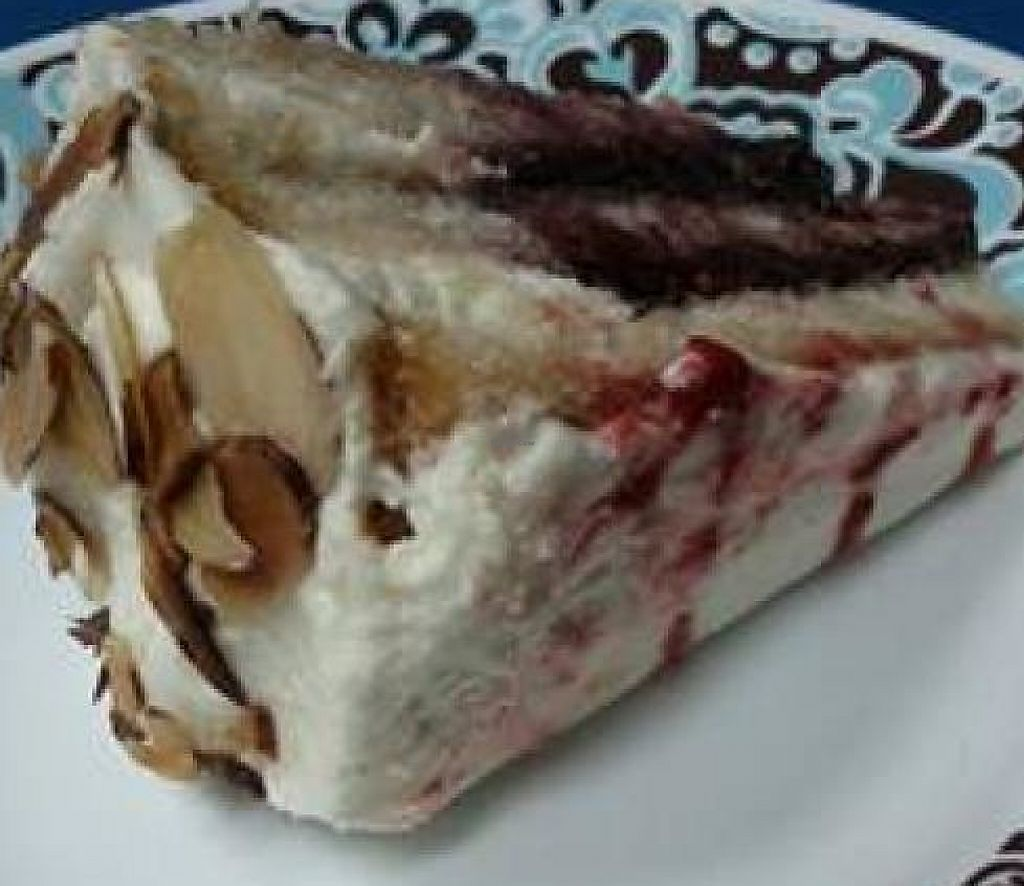 """Photo of Boba House  by <a href=""""/members/profile/Gen-XerJakeJones"""">Gen-XerJakeJones</a> <br/>Amarreto raspberry cake from Boba House, Greensboro NC <br/> September 22, 2013  - <a href='/contact/abuse/image/3396/214594'>Report</a>"""