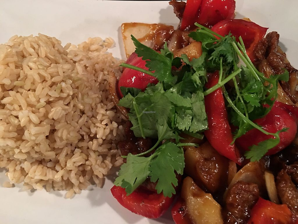 """Photo of Boba House  by <a href=""""/members/profile/TraciH"""">TraciH</a> <br/>Hawaiian Stir Fry with """"Ribs"""" <br/> November 13, 2017  - <a href='/contact/abuse/image/3396/325259'>Report</a>"""