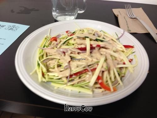 "Photo of Try it Raw  by <a href=""/members/profile/SynthVegan"">SynthVegan</a> <br/>zucchini pasta <br/> November 12, 2012  - <a href='/contact/abuse/image/33971/40172'>Report</a>"