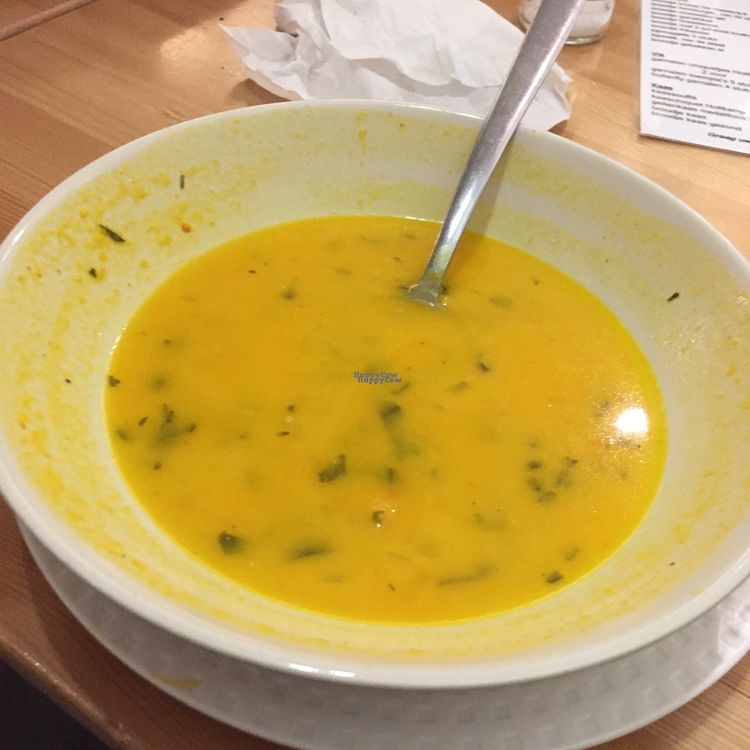 """Photo of 't Wethoudertje  by <a href=""""/members/profile/vegannomad2"""">vegannomad2</a> <br/>sorry pumpkin soup.  <br/> October 25, 2016  - <a href='/contact/abuse/image/33988/184391'>Report</a>"""