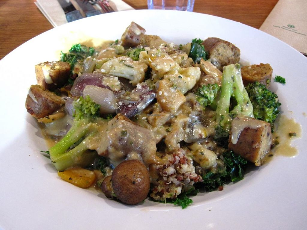 """Photo of Veggie Grill - South Lake Union  by <a href=""""/members/profile/vegan%20frog"""">vegan frog</a> <br/>Harvest Bowl - December 2013 <br/> December 29, 2013  - <a href='/contact/abuse/image/33990/61259'>Report</a>"""