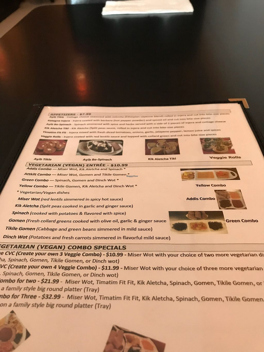 "Photo of Lucy Ethiopian Cafe  by <a href=""/members/profile/Tbredfilly"">Tbredfilly</a> <br/>Menu <br/> January 30, 2018  - <a href='/contact/abuse/image/34010/352875'>Report</a>"