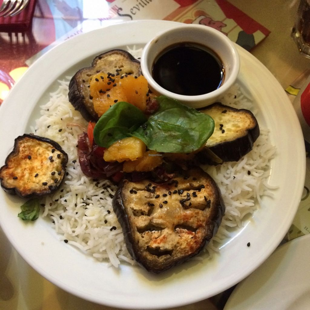 "Photo of La Cereria  by <a href=""/members/profile/joshANDmel"">joshANDmel</a> <br/>basmati rice and grilled veggies <br/> October 28, 2015  - <a href='/contact/abuse/image/34026/122937'>Report</a>"