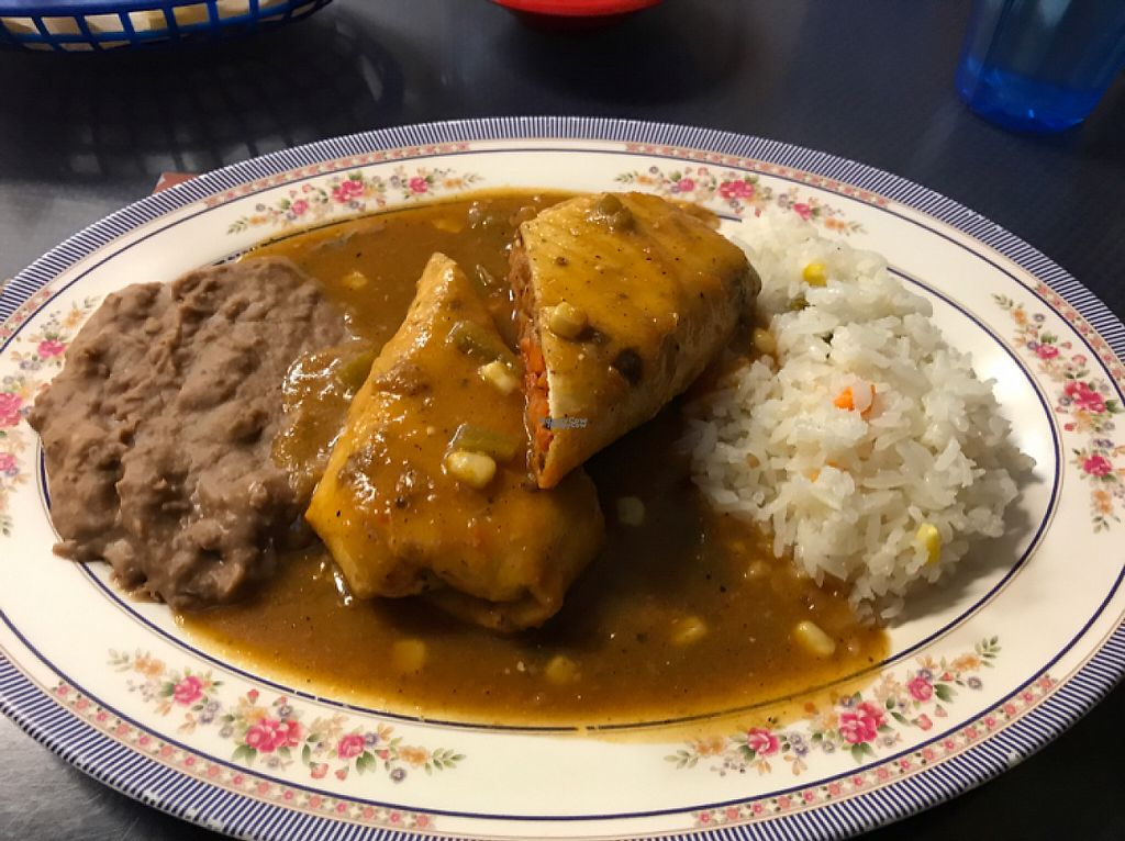 """Photo of Tarascos  by <a href=""""/members/profile/pdxjayhawk"""">pdxjayhawk</a> <br/>Chimichanga  <br/> April 30, 2017  - <a href='/contact/abuse/image/34029/253931'>Report</a>"""