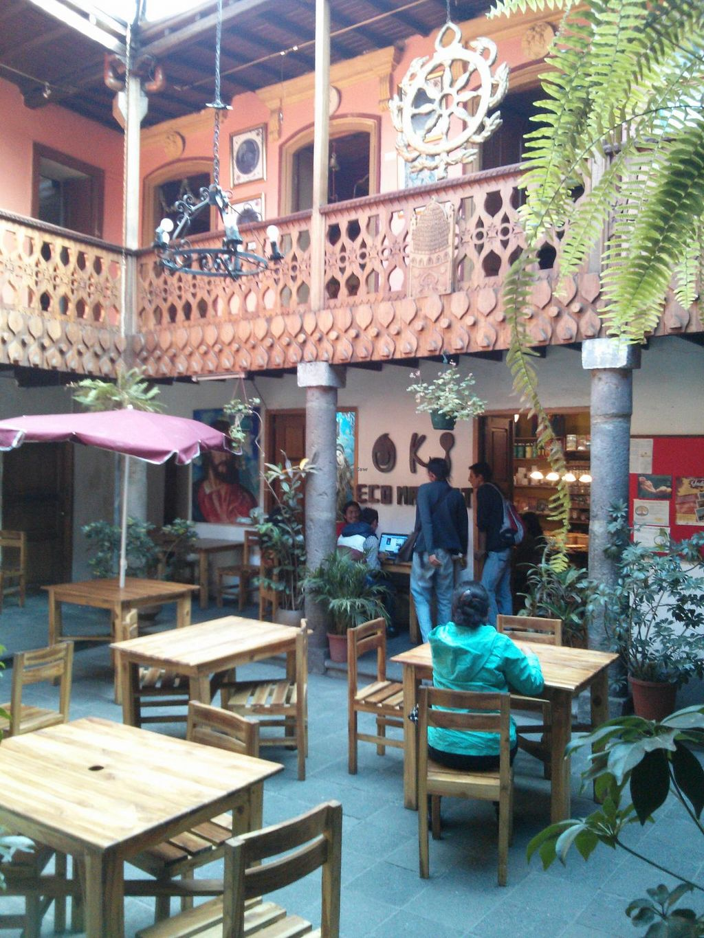 """Photo of Oki Eco Market  by <a href=""""/members/profile/earthville"""">earthville</a> <br/>courtyard <br/> September 8, 2014  - <a href='/contact/abuse/image/34054/79421'>Report</a>"""