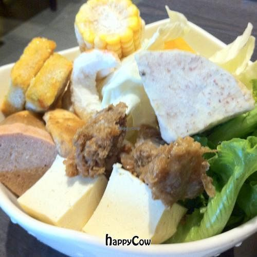 """Photo of Chien Yen Shabu Shabu  by <a href=""""/members/profile/chazyvr"""">chazyvr</a> <br/>Veggie hot pot ingredients <br/> August 28, 2012  - <a href='/contact/abuse/image/34082/37103'>Report</a>"""