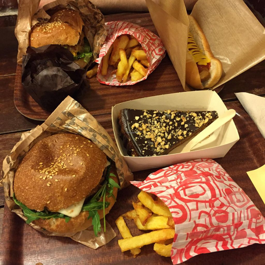 """Photo of East Side Burgers  by <a href=""""/members/profile/Lauren_hadfield"""">Lauren_hadfield</a> <br/>vegan burgers❤️ <br/> April 28, 2015  - <a href='/contact/abuse/image/34087/100533'>Report</a>"""