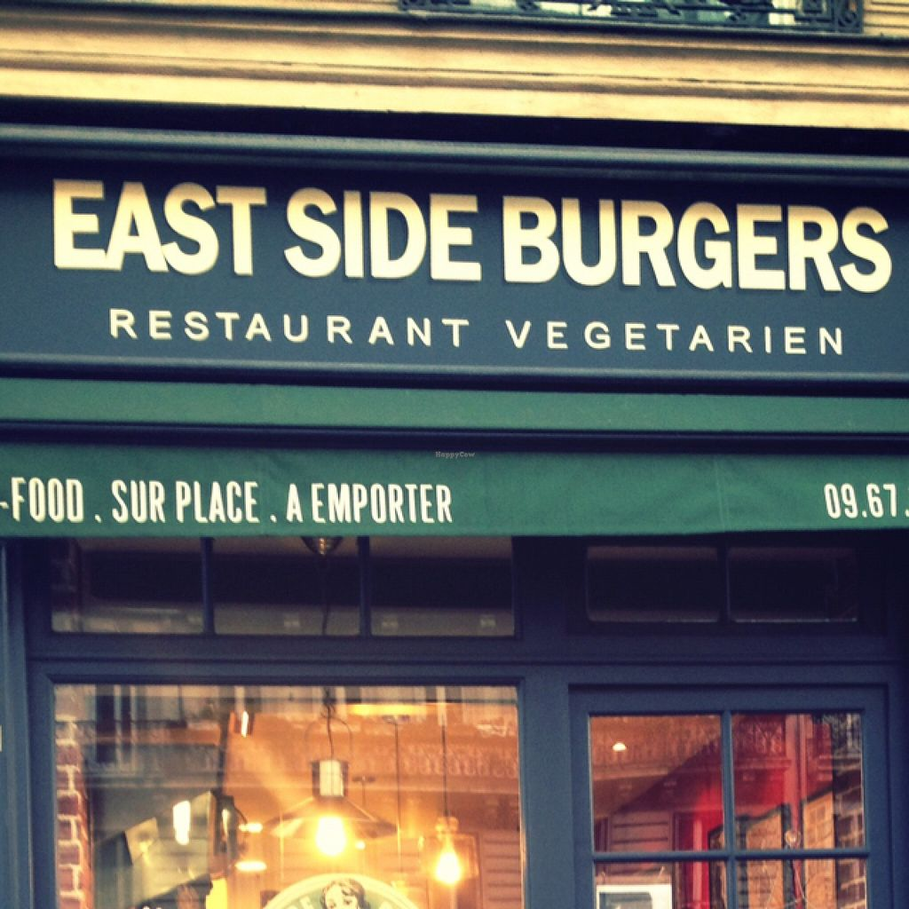 """Photo of East Side Burgers  by <a href=""""/members/profile/monisonfire"""">monisonfire</a> <br/>sign outside <br/> April 11, 2016  - <a href='/contact/abuse/image/34087/143908'>Report</a>"""