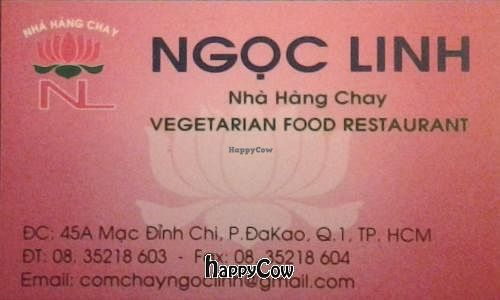 """Photo of CLOSED: Ngoc Linh  by <a href=""""/members/profile/Henry_Flower"""">Henry_Flower</a> <br/>Front of restaurant's business card <br/> August 31, 2012  - <a href='/contact/abuse/image/34104/37195'>Report</a>"""