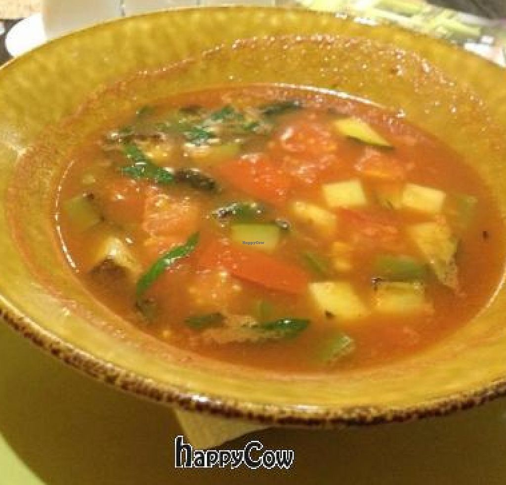 """Photo of Cafe Imbir - Ginger  by <a href=""""/members/profile/vegan_ryan"""">vegan_ryan</a> <br/>Vegetable soup <br/> April 8, 2013  - <a href='/contact/abuse/image/34106/243903'>Report</a>"""