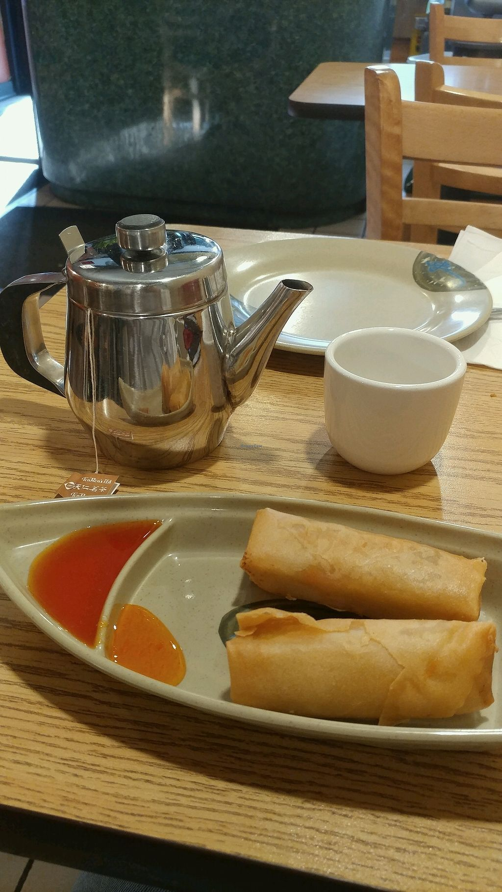 "Photo of Yummy Yummy  by <a href=""/members/profile/mster9ball1"">mster9ball1</a> <br/>hot tea & egg rolls <br/> September 11, 2017  - <a href='/contact/abuse/image/3410/303414'>Report</a>"