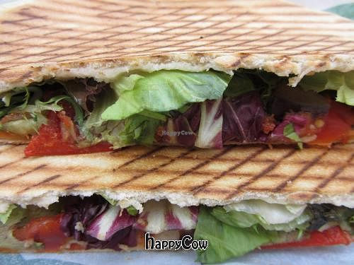 "Photo of Immergruen  by <a href=""/members/profile/VegiAnna"">VegiAnna</a> <br/>Veggie Veggie panini (without cheese) <br/> August 31, 2012  - <a href='/contact/abuse/image/34110/37237'>Report</a>"