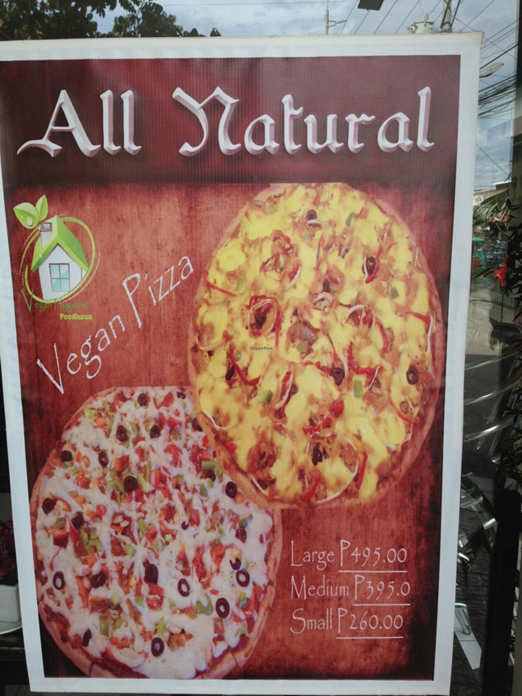 """Photo of Vegan Hygienic Foodhaus  by <a href=""""/members/profile/RandyC_JtS"""">RandyC_JtS</a> <br/>Vegan Foodhaus pizza <br/> January 5, 2014  - <a href='/contact/abuse/image/34114/61805'>Report</a>"""