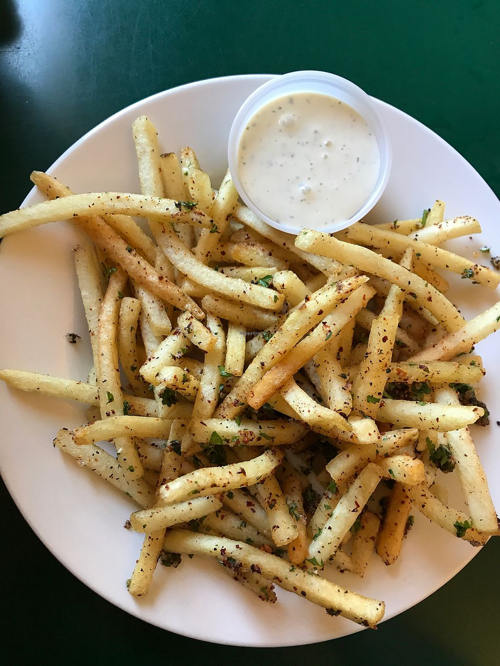 """Photo of East West Cafe  by <a href=""""/members/profile/sararowan"""">sararowan</a> <br/>garlic fries <br/> July 17, 2017  - <a href='/contact/abuse/image/3414/281569'>Report</a>"""