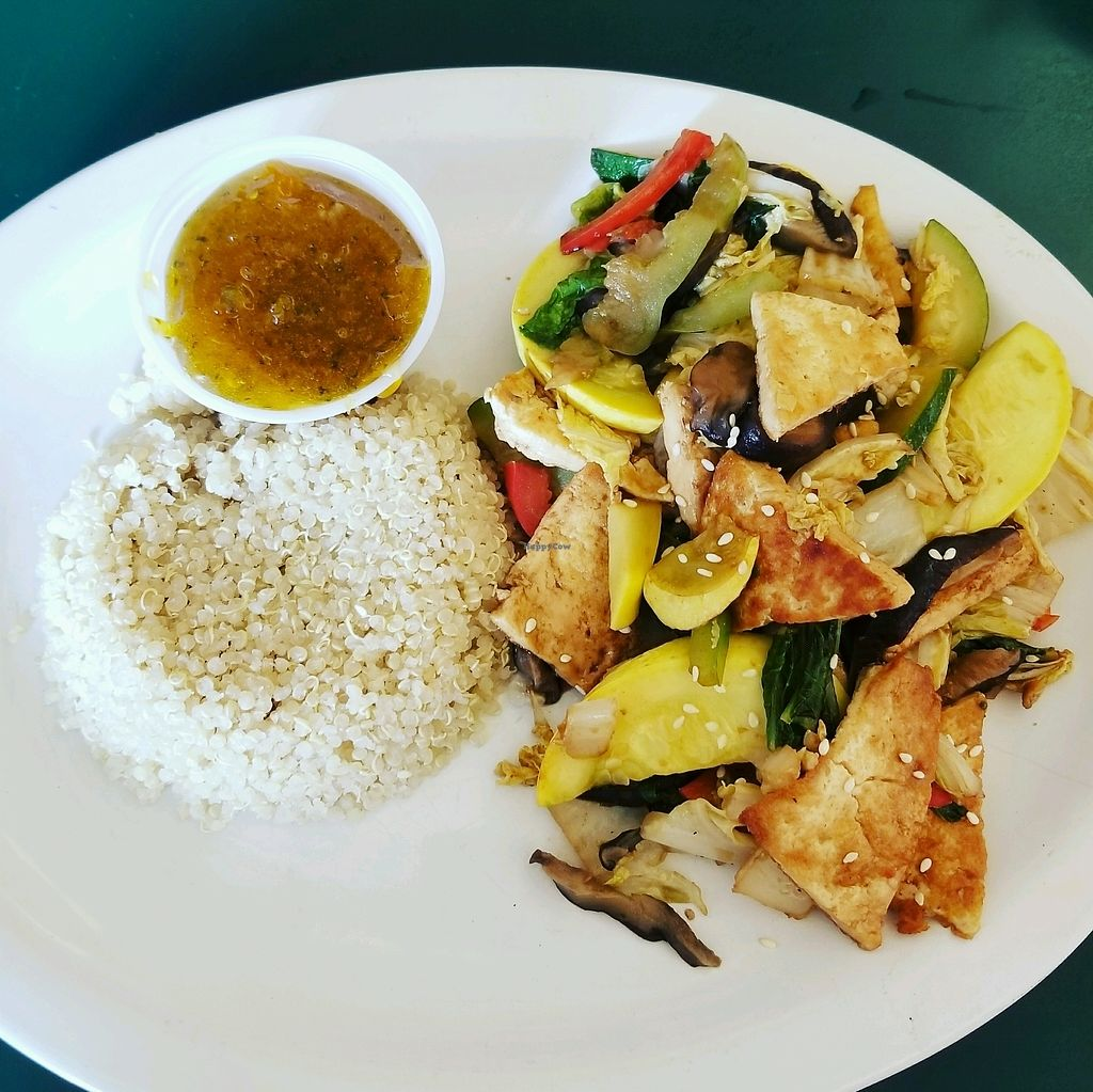 "Photo of East West Cafe  by <a href=""/members/profile/tikhonova87"">tikhonova87</a> <br/>tofu wok <br/> September 2, 2017  - <a href='/contact/abuse/image/3414/300044'>Report</a>"