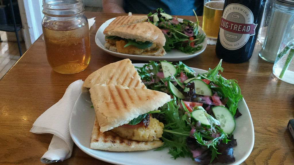 """Photo of The Tea Party - York St  by <a href=""""/members/profile/JoleneFauchon"""">JoleneFauchon</a> <br/>The tea party burger  <br/> May 14, 2018  - <a href='/contact/abuse/image/34193/399426'>Report</a>"""