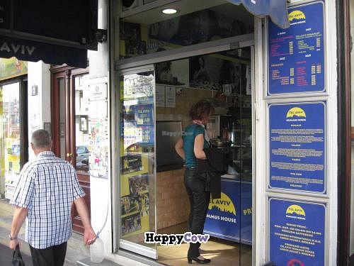 "Photo of Tel Aviv Hummus House  by <a href=""/members/profile/kenvegan"">kenvegan</a> <br/>Outside Tel Aviv Hummus House <br/> September 16, 2013  - <a href='/contact/abuse/image/34198/55003'>Report</a>"