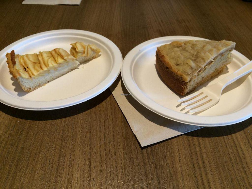 """Photo of Radicetonda - Via Spallanzani  by <a href=""""/members/profile/LiaTraballero"""">LiaTraballero</a> <br/>Apple cake and Almond cake <br/> April 27, 2015  - <a href='/contact/abuse/image/34224/100468'>Report</a>"""