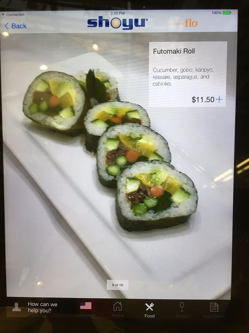 """Photo of Taste of Shoyu  by <a href=""""/members/profile/Durpadurp"""">Durpadurp</a> <br/>Futomaki Roll <br/> November 27, 2017  - <a href='/contact/abuse/image/34245/329880'>Report</a>"""
