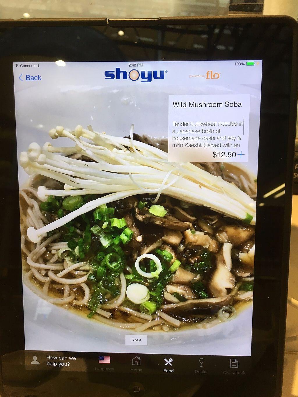 "Photo of Taste of Shoyu  by <a href=""/members/profile/Durpadurp"">Durpadurp</a> <br/>Wild Mushroom Soba <br/> November 27, 2017  - <a href='/contact/abuse/image/34245/329881'>Report</a>"