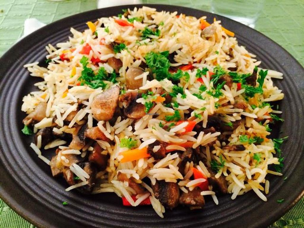 """Photo of CLOSED: BIOFresh 1  by <a href=""""/members/profile/JosephaOrtiz"""">JosephaOrtiz</a> <br/>Rice with mushrooms <br/> August 1, 2014  - <a href='/contact/abuse/image/34247/75766'>Report</a>"""