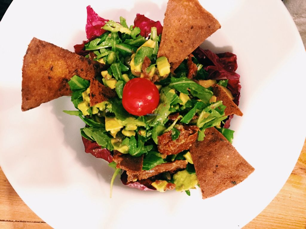 "Photo of Sunmoon Bakery - Septemvri  by <a href=""/members/profile/Nikoleta"">Nikoleta</a> <br/>Universal Salad <br/> December 7, 2015  - <a href='/contact/abuse/image/34259/127508'>Report</a>"