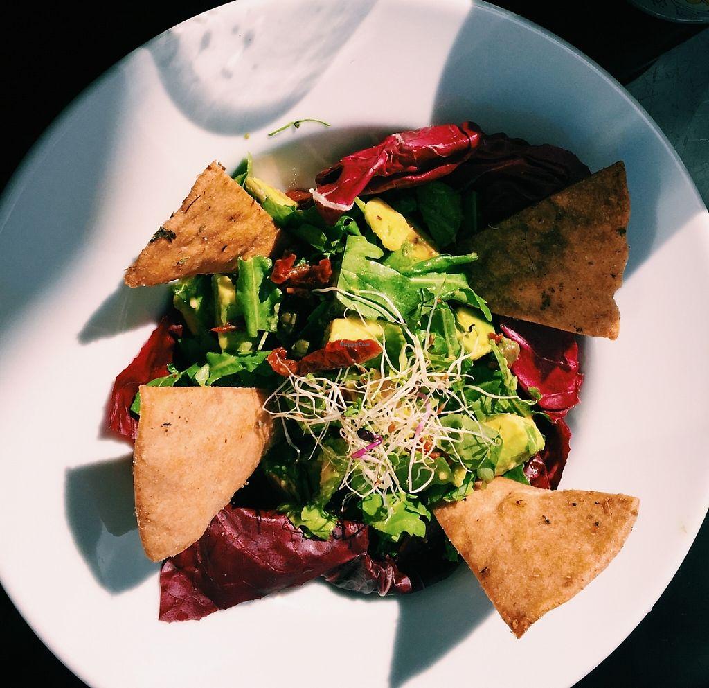 "Photo of Sunmoon Bakery - Septemvri  by <a href=""/members/profile/Nikoleta"">Nikoleta</a> <br/>Yummy Universal Salad  <br/> November 24, 2015  - <a href='/contact/abuse/image/34259/235570'>Report</a>"