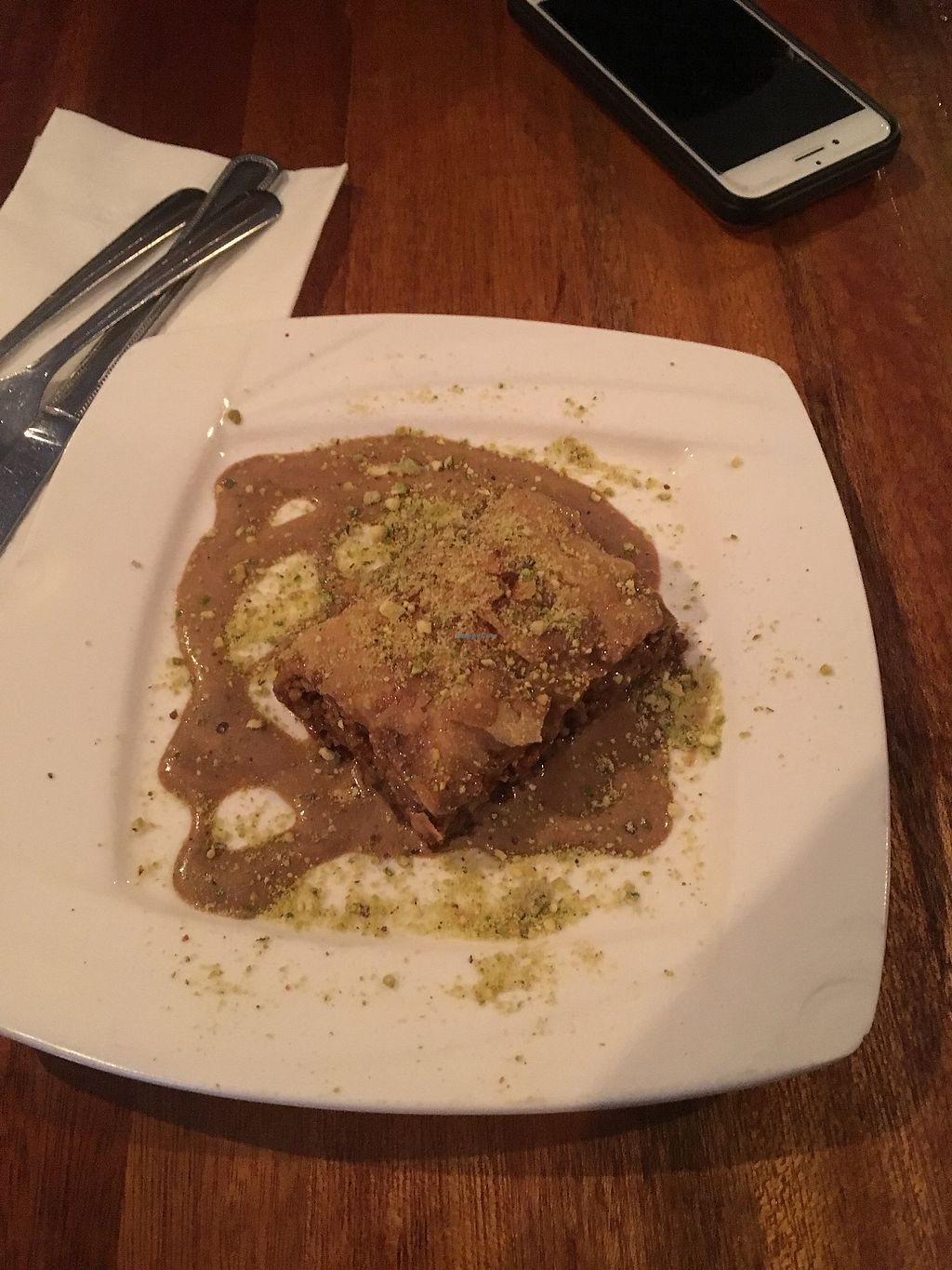 "Photo of Bunna Cafe  by <a href=""/members/profile/770veg"">770veg</a> <br/>Baklava <br/> May 13, 2018  - <a href='/contact/abuse/image/34274/399389'>Report</a>"